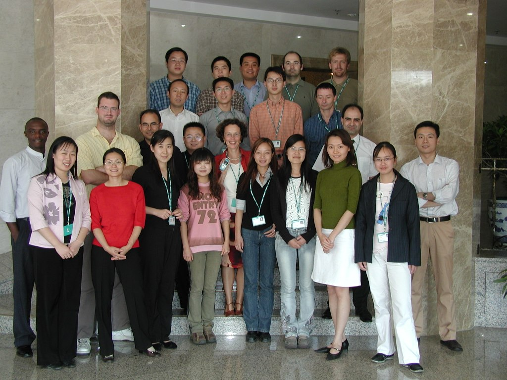 The SCM team of Siemens Ltd. China in Beijing, China.